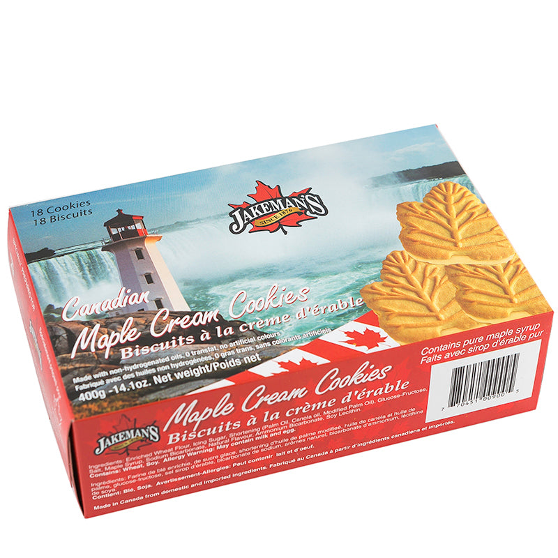 Maple Cream Cookies from Jakeman's - 400g
