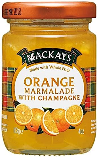 Mackays     Orange Marmalade With Champagne 113g