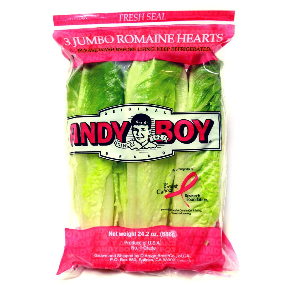 Andy Boy Romaine Hearts - per bag
