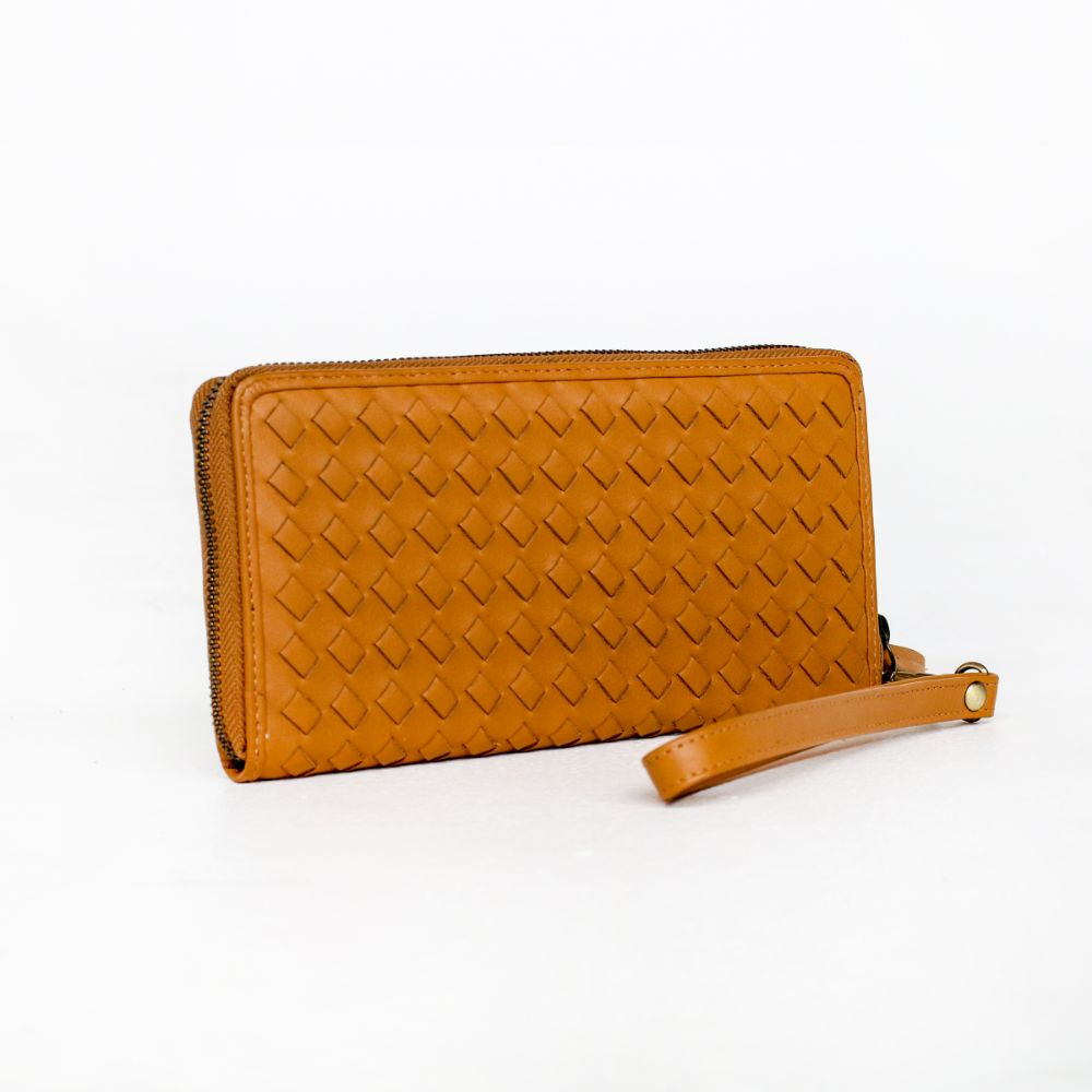 Peggy Wallet - Tan