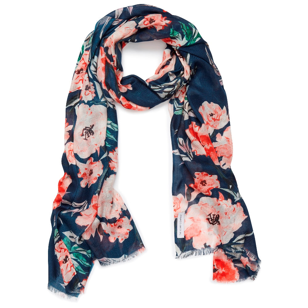 Peggy Floral Scarf