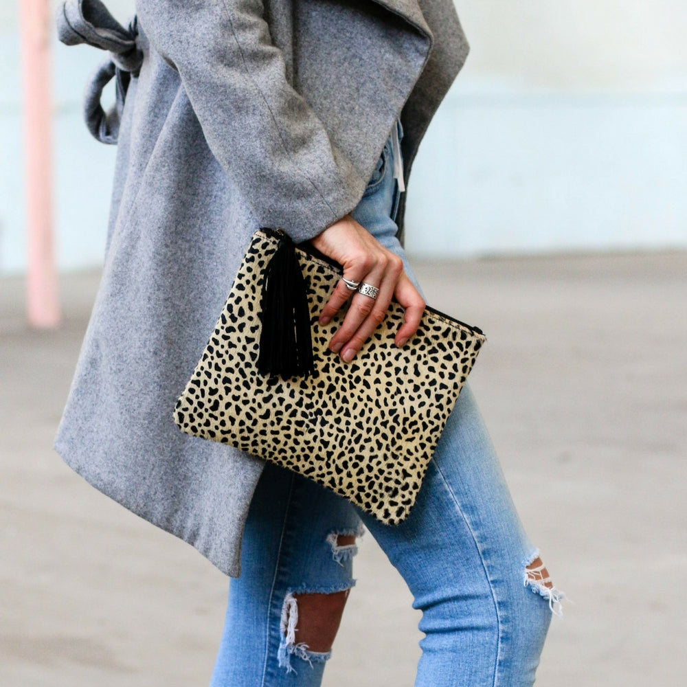 Roma Leopard Pouch