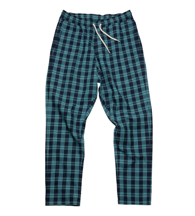 Beater Pant // Blue Plaid