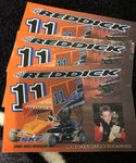 Tyler Reddick's First drivers card