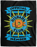 DisDad Club Official Member VPL Cozy Plush Fleece Blanket - 60x80