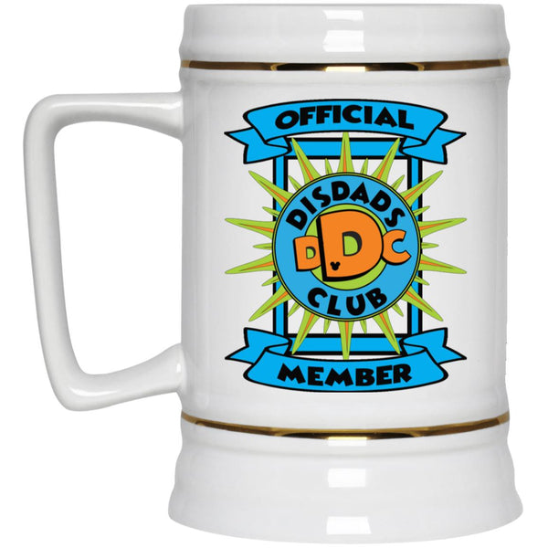 DisDad Club Official Member 22217 Beer Stein 22oz.