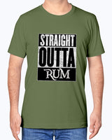 Straight Out of Rum - Canvas Unisex T-Shirt