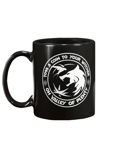 Toss A Coin To Your Witcher - 15oz Mug