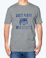 "White Plains Wildcats ""grunge""  Fitted Crew"