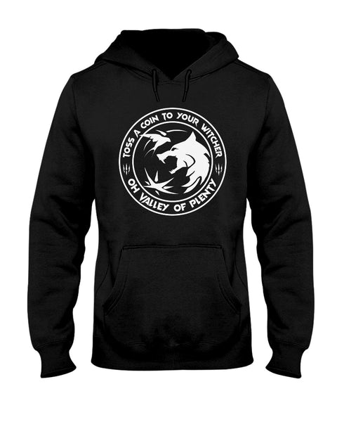 Witcher Hoodie - Toss Your Witcher A Coin