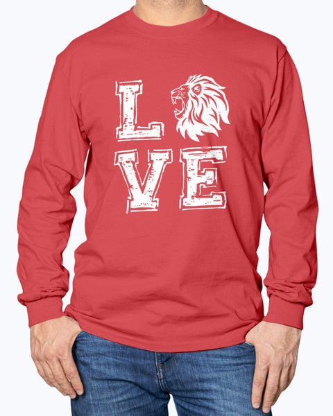Love Munford Lions  Long Sleeve