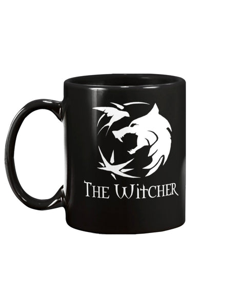 The Witcher Wolf Circle  - 15oz Mug