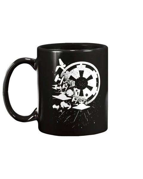 Empire Attacks Star Wars Mug