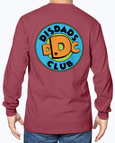 "DisDads Club  Official Member ""Nate"" Style Long Sleeve"