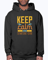 Swimming - Keep Calm and Swim On