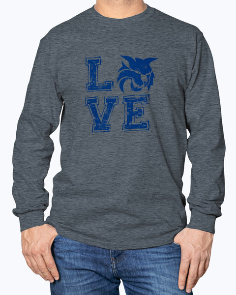 Love White Plains Long Sleeve