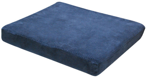 DRIVE MEDICAL Seat Cushion . 18 W X 16 D X 3 H Inch Foam with removable cover