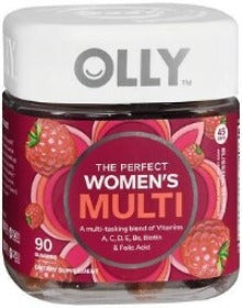 OLLY WOMEN MULTI BERRY GUMMIES 90CT