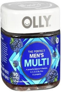 OLLY THE PERFECT MEN'S MULTI GUMMIES 90CT