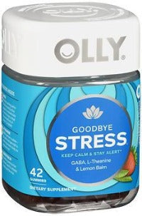 OLLY GOODBYE STRESS BERRY GUMMIES 42CT