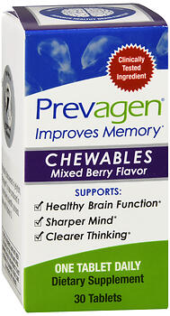 PREVAGEN® CHEWABLES – 10 MG 30 MIXED BERRY FLAVORED TABLETS