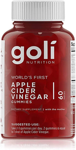 GOLI APPLE CIDER VINEGAR GUMMIES (60CT)