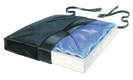 Skil-Care™ Thin-Line Seat Cushion  20 W X 16 D X 1 H Inch Foam / Gel