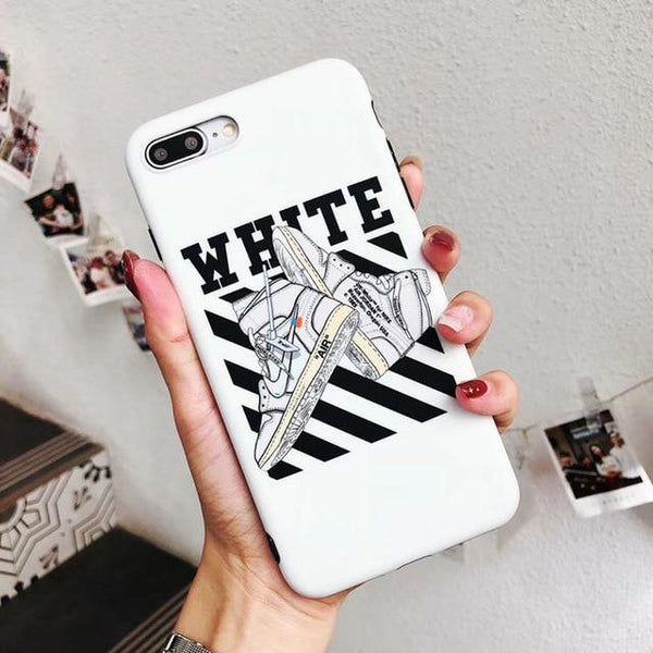 iPhone - Off-white hot air Jordan case