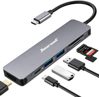 Adaptador USB C/ 7 en 1 HDMI OUT
