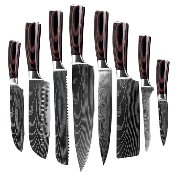 Stainless Steel Kitchen Knives by Koshura™ (40% off)