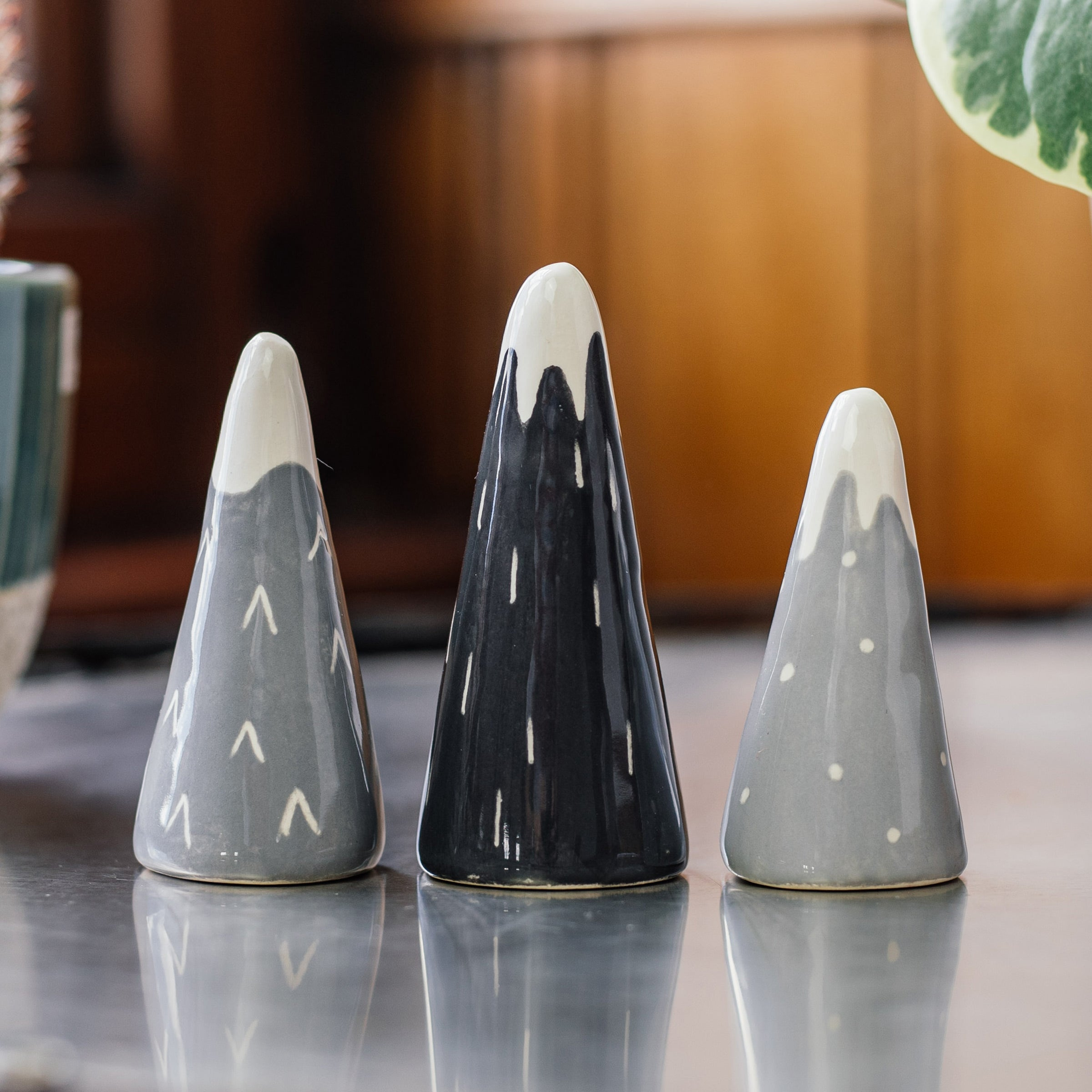 EllART Grey Mountain Ring Cones — The Tetley Shop