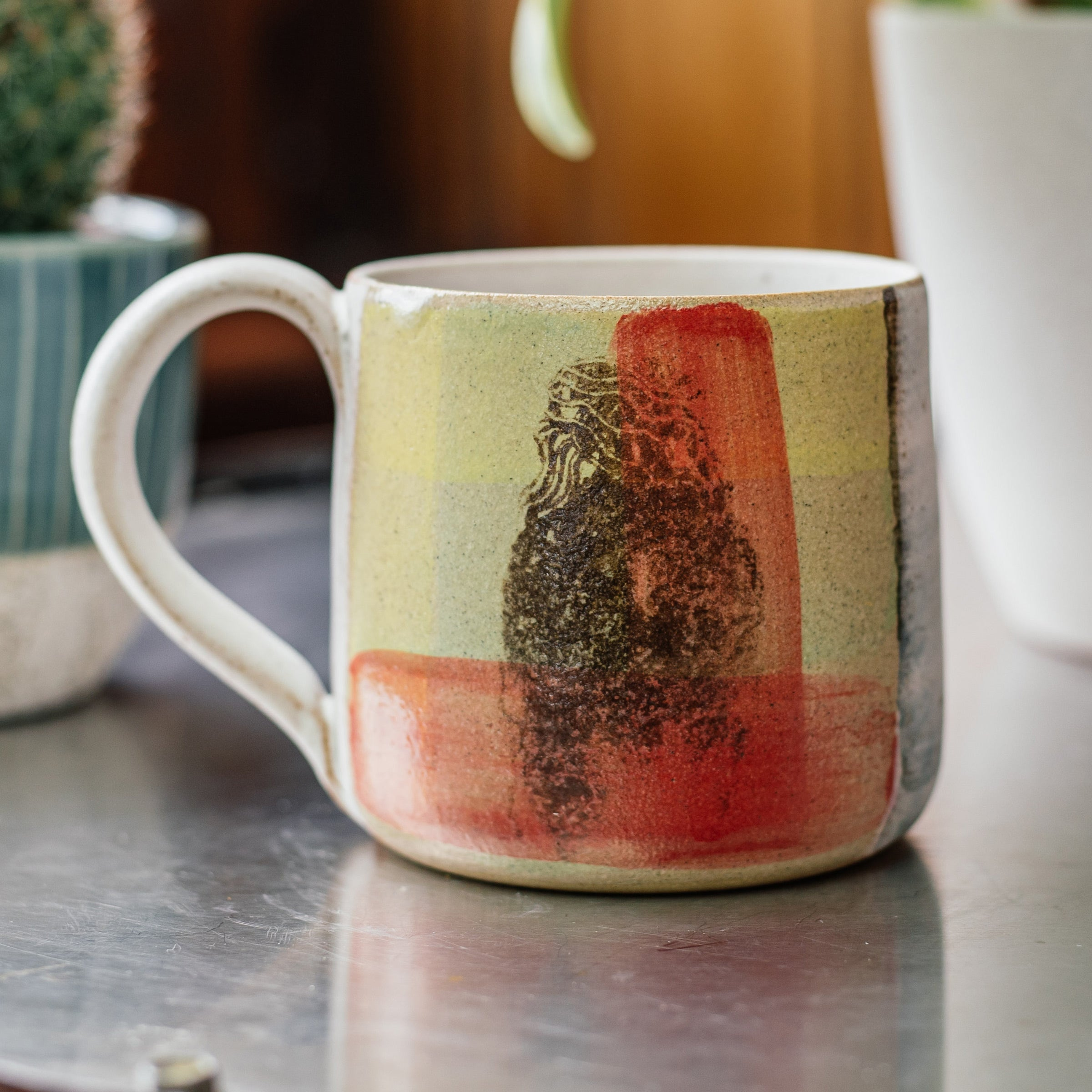 Afro Hair Mug — The Tetley Shop