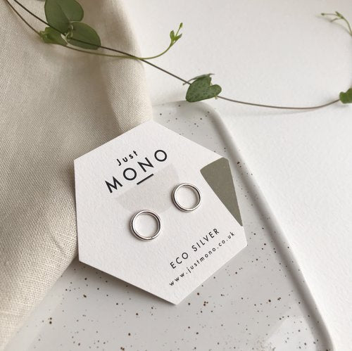 Just MONO Circle Studs — The Tetley Shop