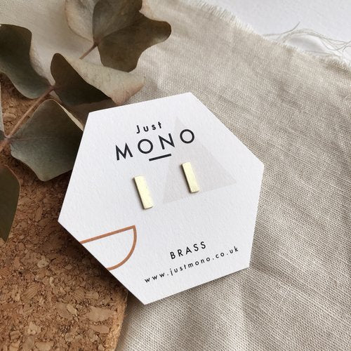 Just MONO Mini Dash Studs — The Tetley Shop