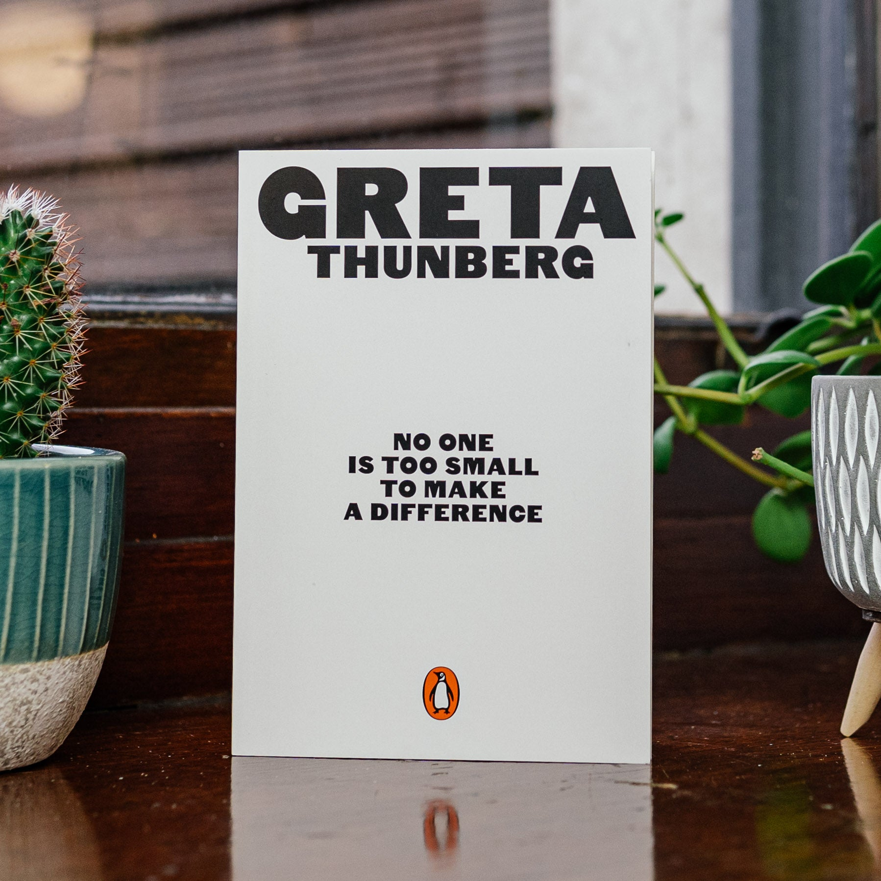 No One is Too Small to Make a Difference / Greta Thunberg — The Tetley Shop