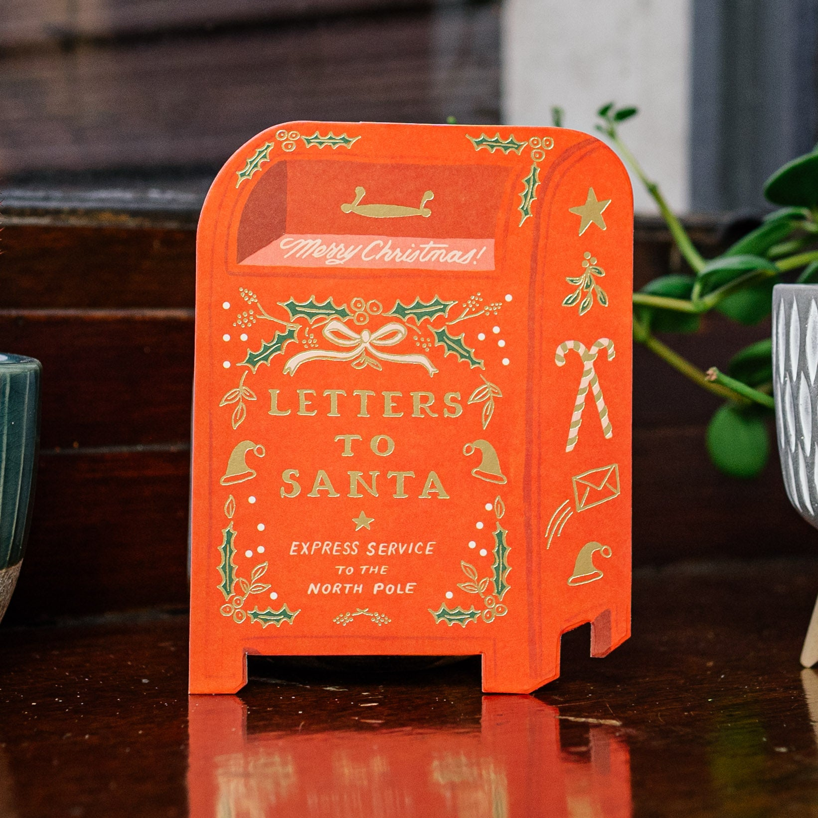 Letters to Santa Christmas Card — The Tetley Shop