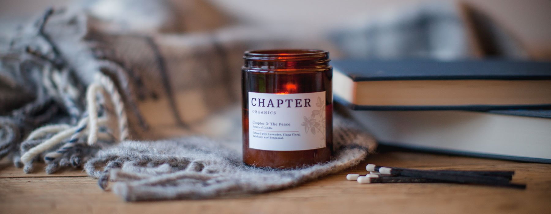 Chapter Organics Candle — The Tetley Shop