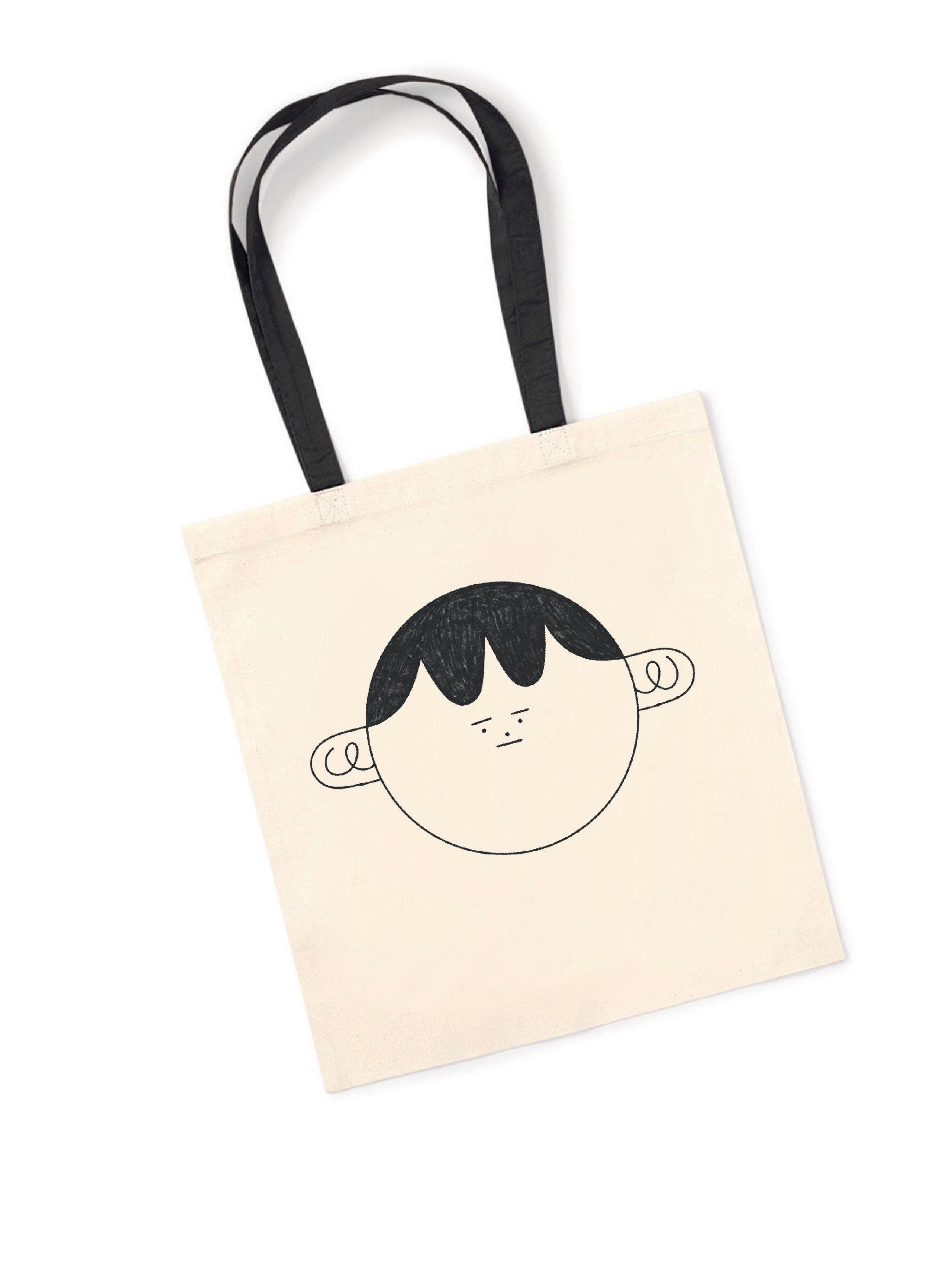 Hollie Fuller 'Face' Tote — The Tetley Shop