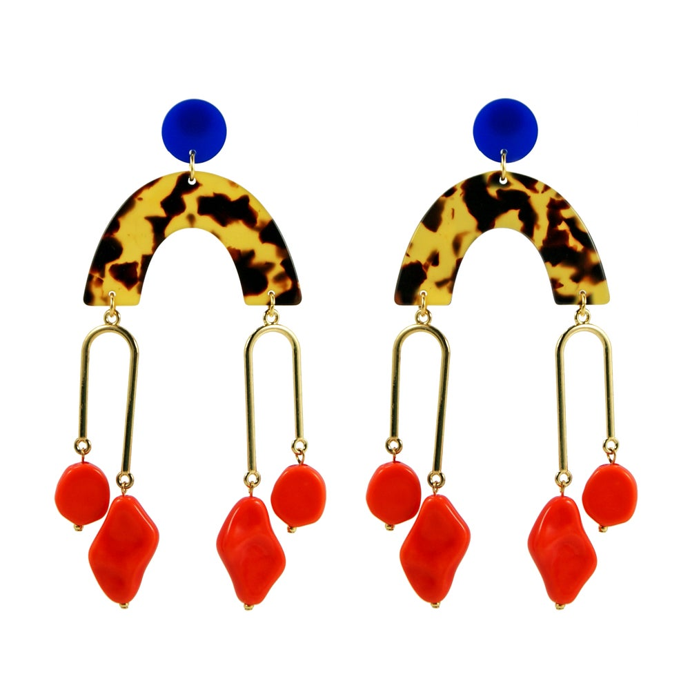 Loubijoux Leona Earrings — The Tetley Shop
