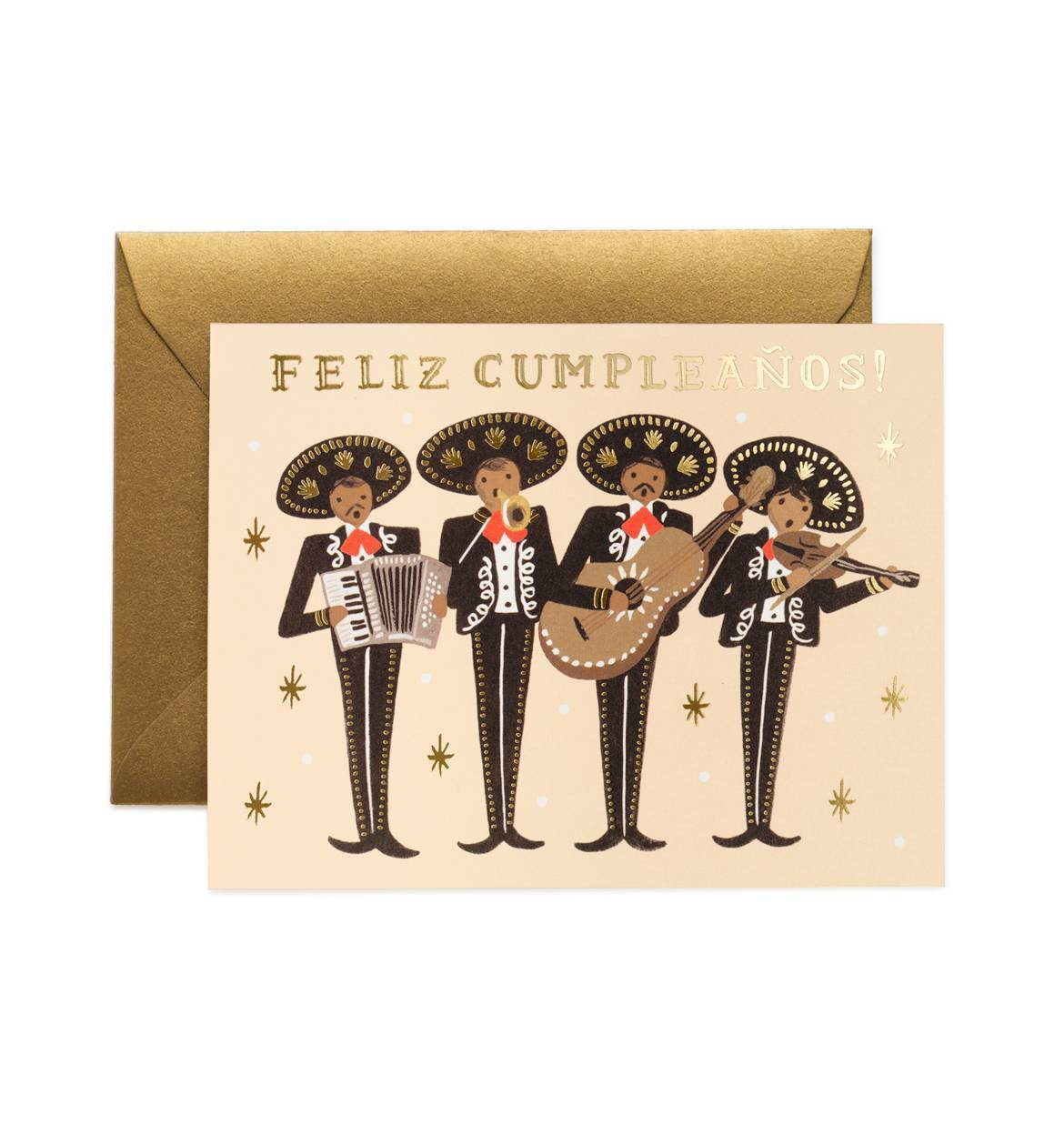 'Mariachi' Greetings Card — The Tetley Shop