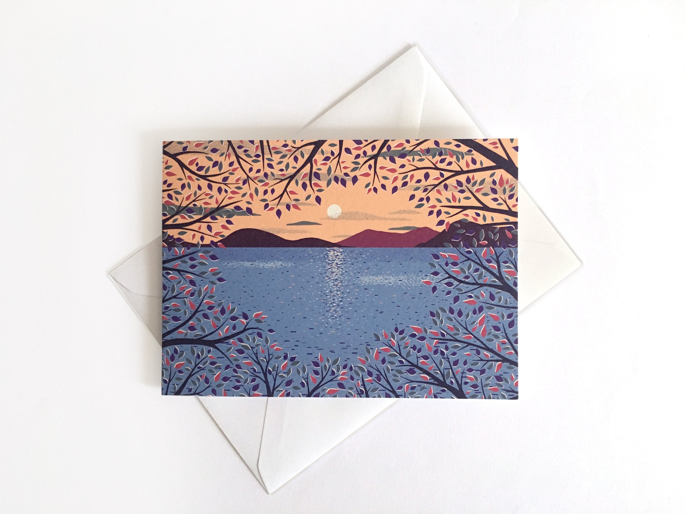 Tom Hardwick 'View Through the Trees' Greetings Card — The Tetley Shop