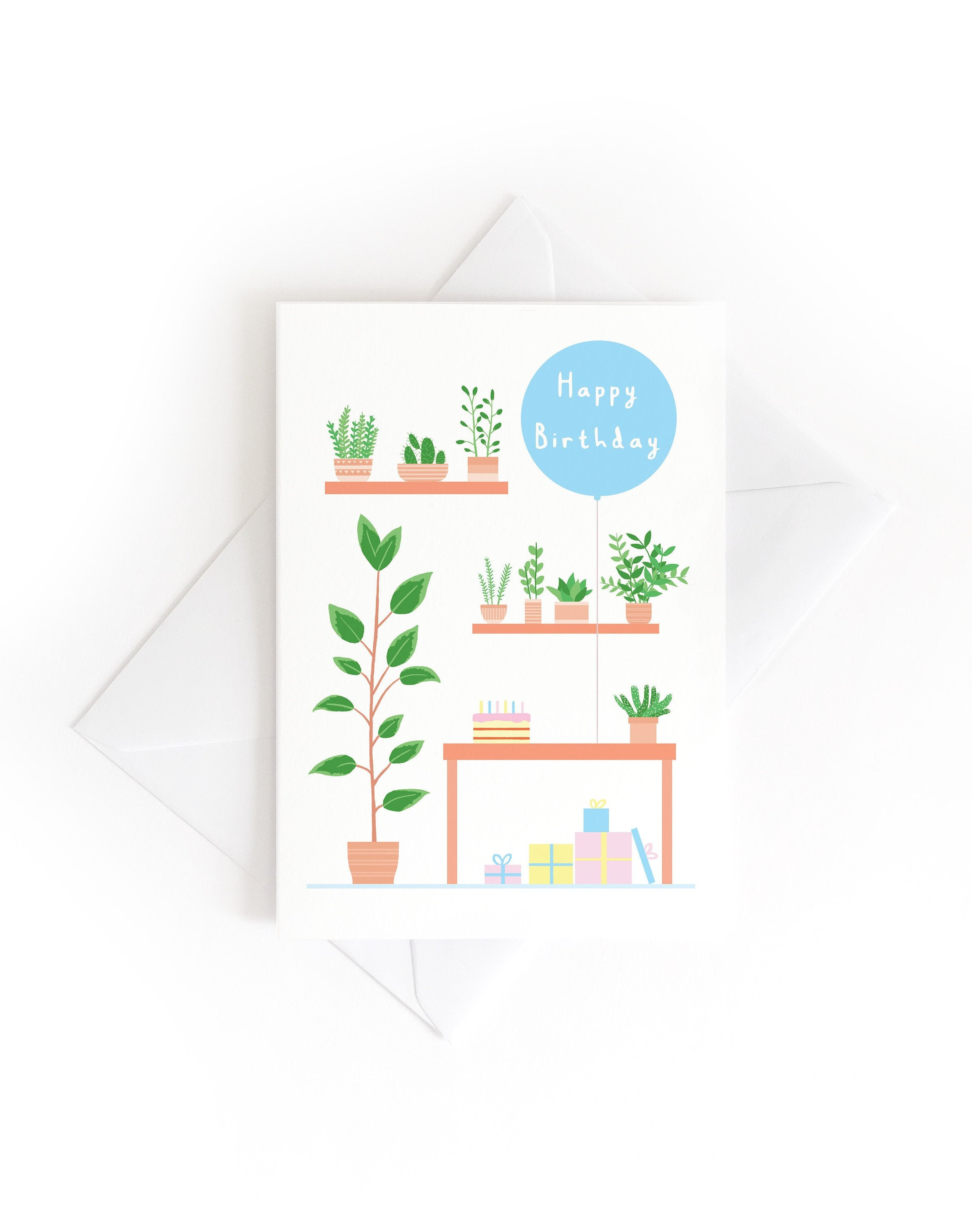 Tom Hardwick 'Studio Birthday' Greetings Card — The Tetley Shop