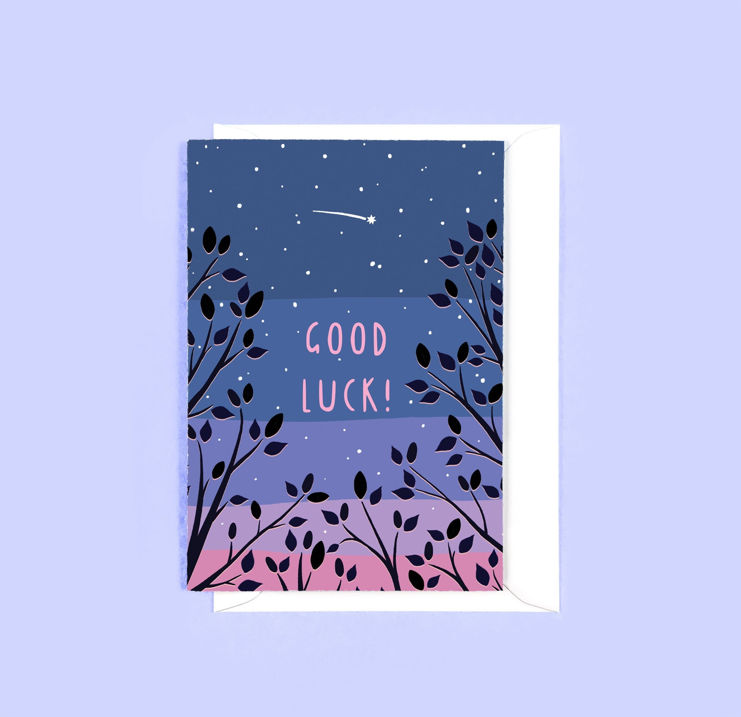 Tom Hardwick 'Good Luck' Greetings Card — The Tetley Shop