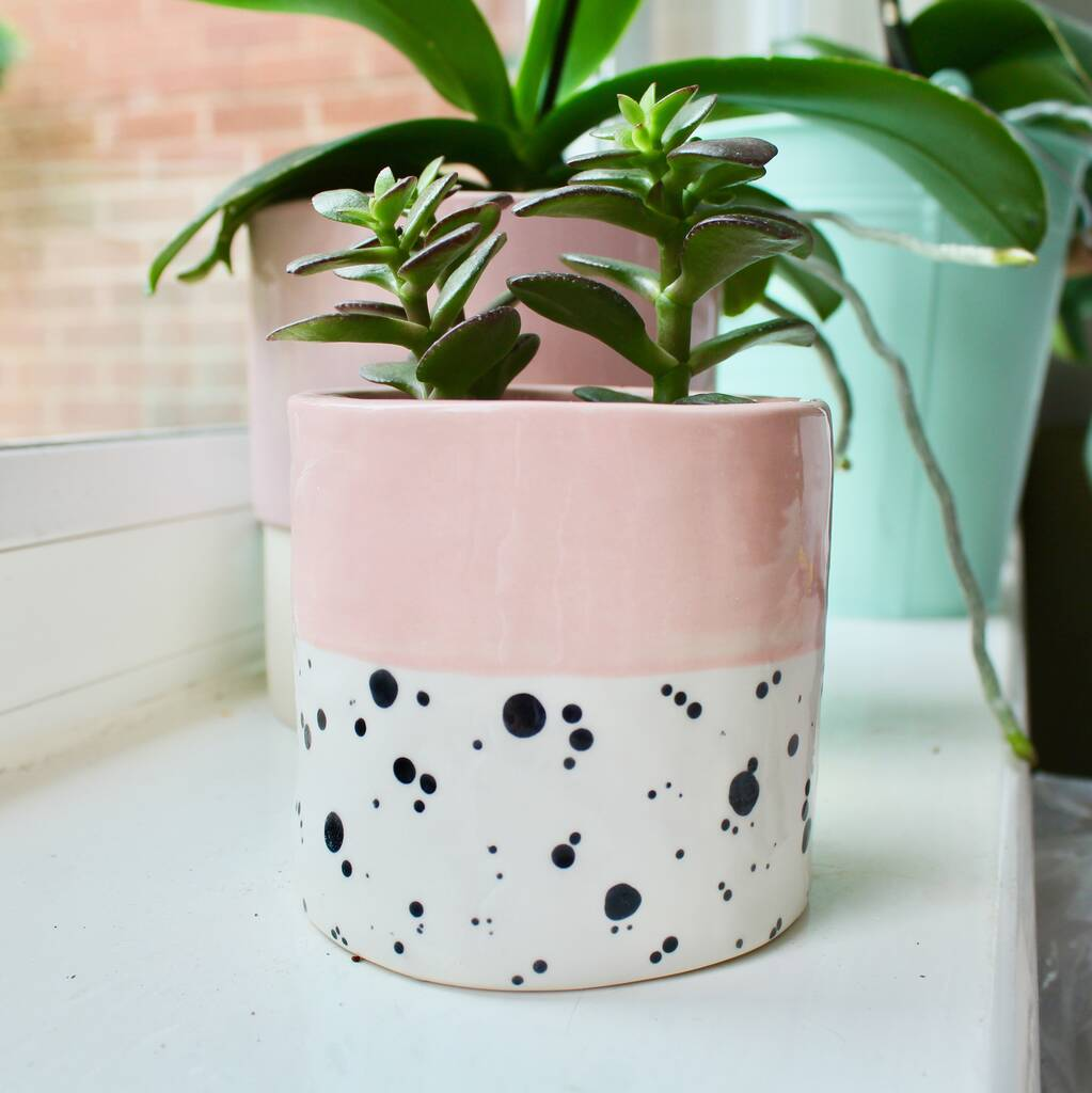 EllART Ceramic Planter — The Tetley Shop