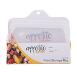 Load image into Gallery viewer, Appetito Silicone Food Storage Bag Clear 330ml