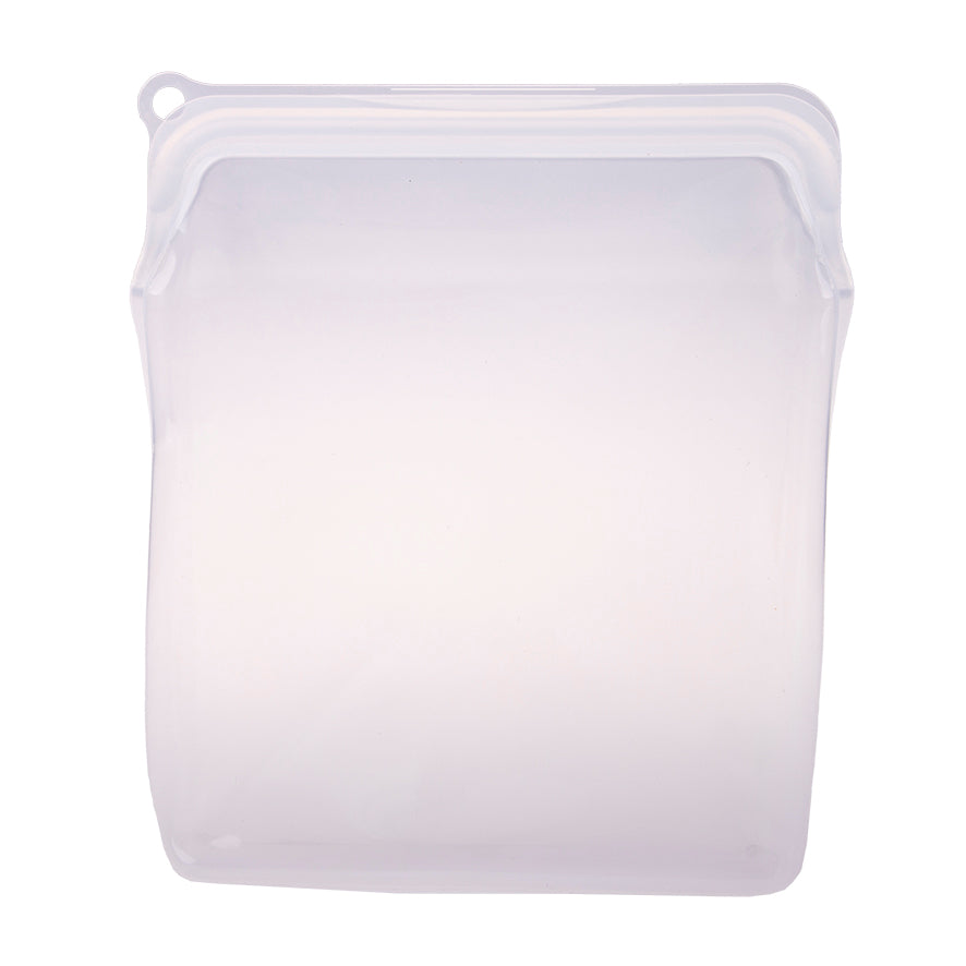 Appetito Silicone Food Storage Bag Clear 1960ml
