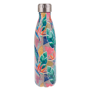 Oasis 500ml Insulated S/S Water Bottle Botanical