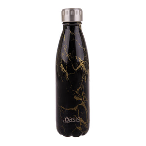 Oasis 500ml Insulated S/S Water Bottle Gold Onyx