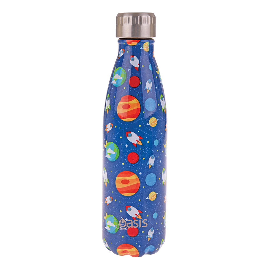 Oasis 500ml Insulated S/S Water Bottle Astro