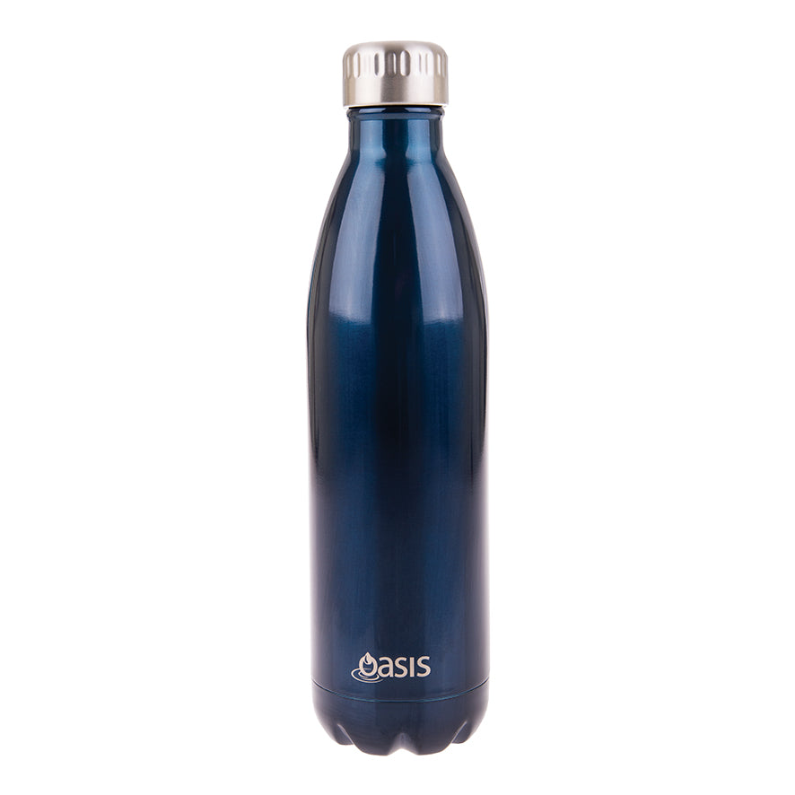 Oasis 750ml Insulated S/S Water Bottle Navy